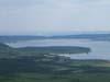 Panorama del lago di Vico