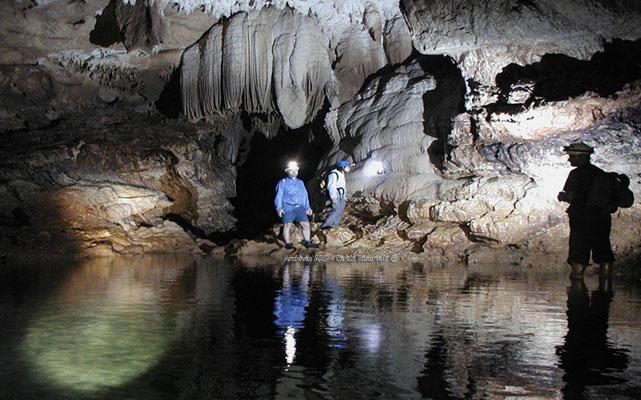 Grotta area dei meandri