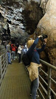 Fotografi in grotta
