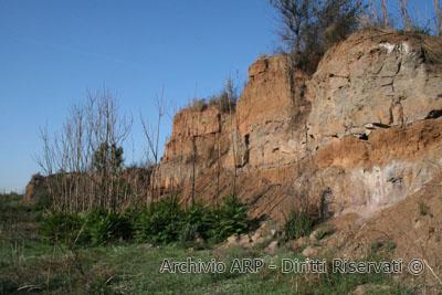 Cava di tufo  - Valle della Caffarella