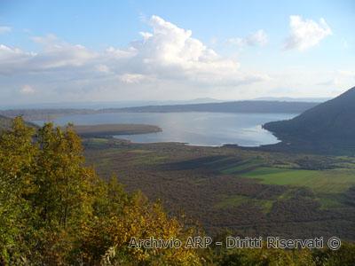 Panorama sul Lago di Vico