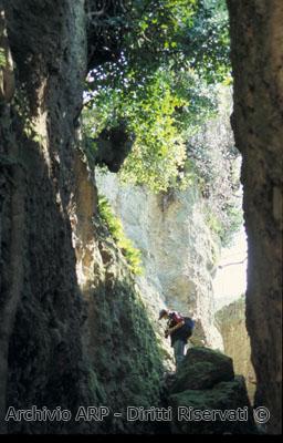Tagli nella roccia