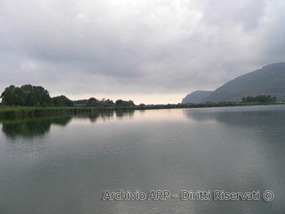 Il lago e monte S. Biagio