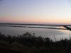 Le saline al tramonto