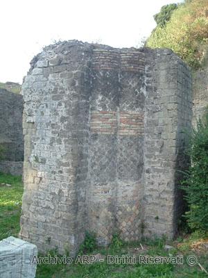 Particolare del Tempio di Giunone Sospita - Lanuvio