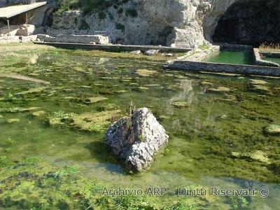 Particolare di Villa Tiberio - Sperlonga