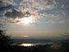 Tramonto sul Lago di Nemi