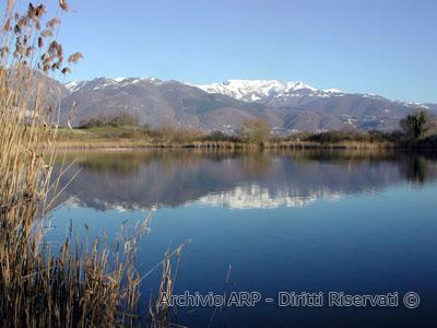 Il lago di  Ripasottile