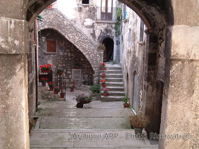 Scorcio del borgo - Santo Stefano di Sessanio