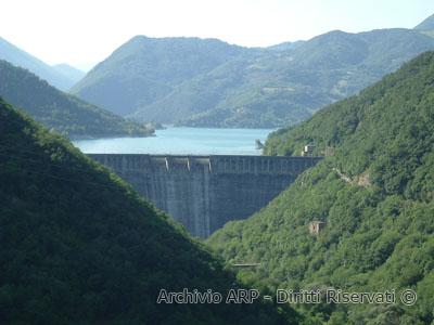 Paesaggio - Lago del Turano
