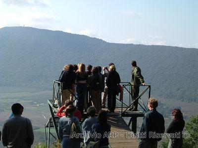 Natura in viaggio 2004 - Postazione di avvistamento