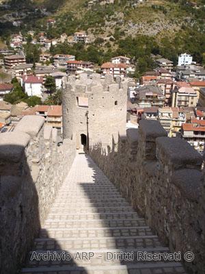 Panorama dal castello di Itri