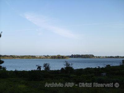 Veduta del Lago di Fondi
