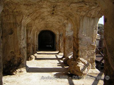 Scorcio della Cisterna delle 36 Colonne